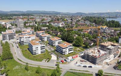 Neubau Wohnüberbauung Eichmatt in Cham