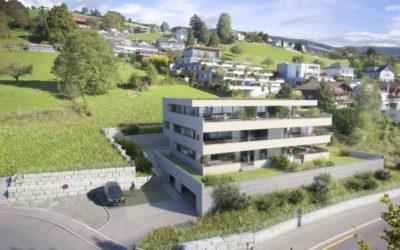 Neubau Mehrfamilienhaus Lohmatt in Oberägeri
