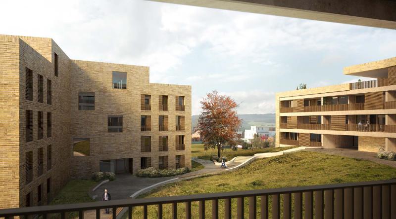 Neubau Wohnüberbauung Chrüzacher in Hünenberg