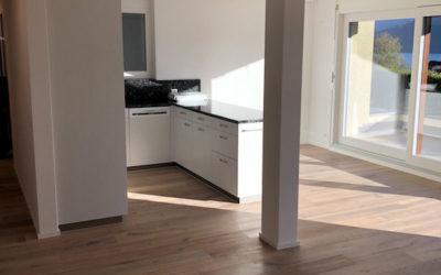 Umbau Wohnung in Unterägeri