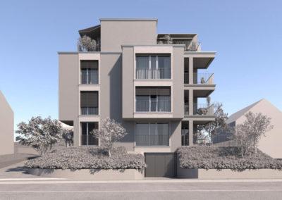 Neubau Mehrfamilienhaus Riedhofstrasse in Zürich