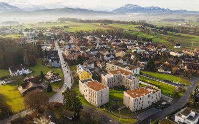 Neubau Wohnüberbauung Chrüzacher Hünenberg
