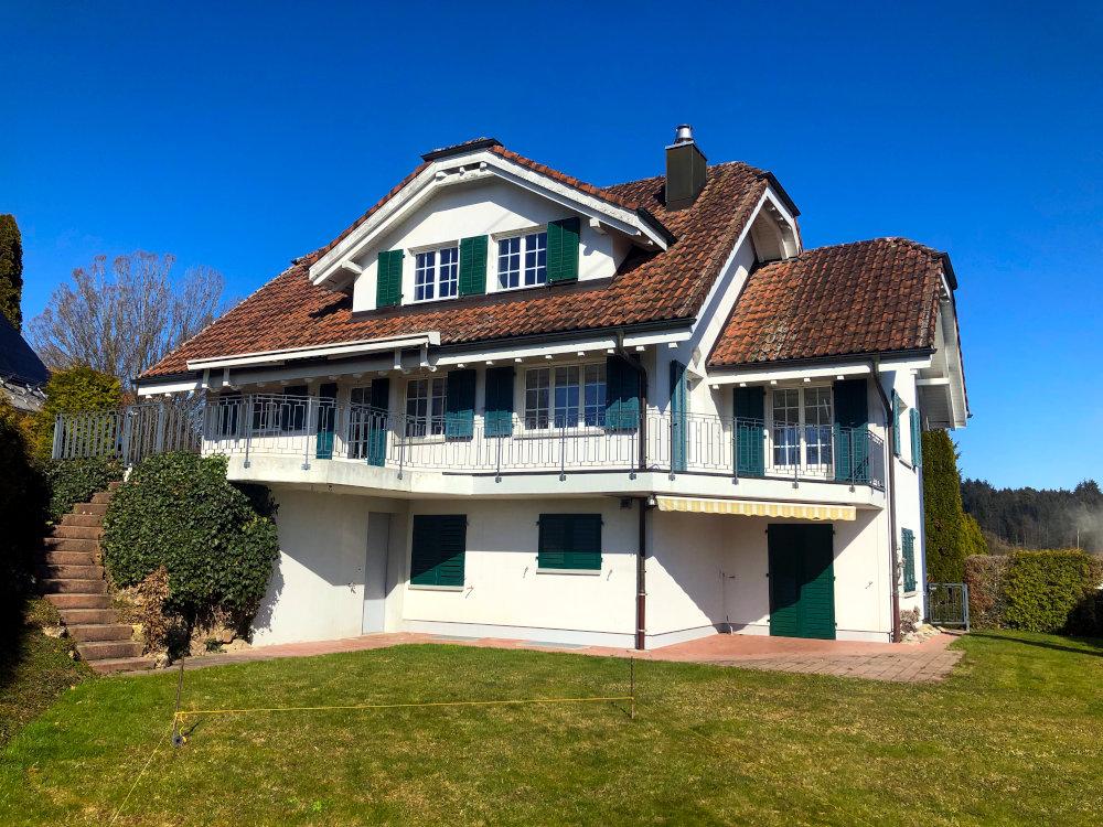 Umbau Einfamilienhaus mit Einliegerwohnung in Steinhausen