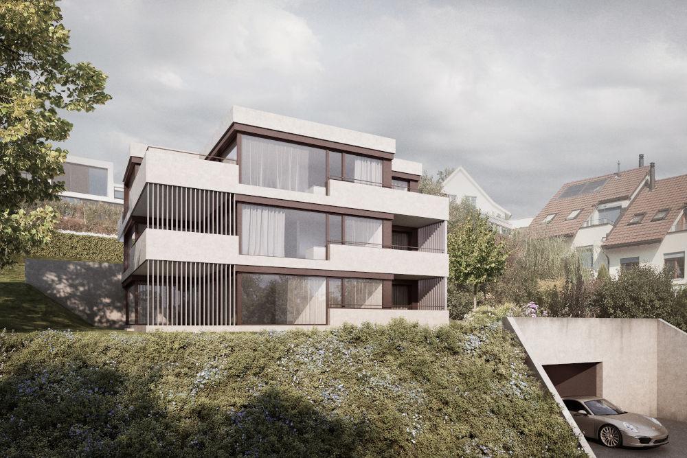 Neubau Mehrfamilienhaus mit Mietwohnungen in Oberrieden